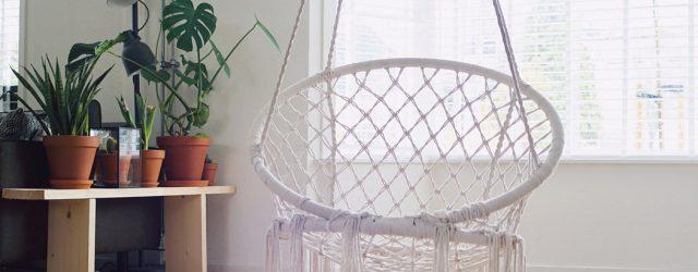 fauteuil œuf suspendu